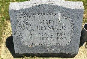 REYNOLDS, MARY M - Linn County, Iowa | MARY M REYNOLDS