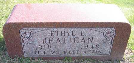 RHATIGAN, ETHYL E. - Linn County, Iowa | ETHYL E. RHATIGAN