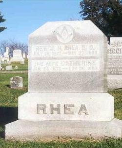 JAMES RHEA, CATHERINE - Linn County, Iowa | CATHERINE JAMES RHEA