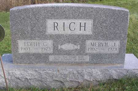 RICH, EDITH G. - Linn County, Iowa | EDITH G. RICH
