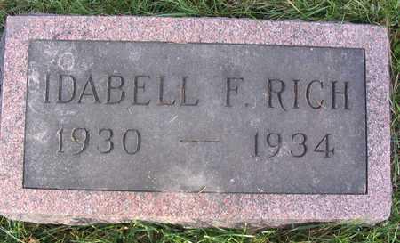 RICH, IDABELL F. - Linn County, Iowa | IDABELL F. RICH