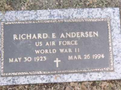 ANDERSEN, RICHARD E. - Linn County, Iowa | RICHARD E. ANDERSEN