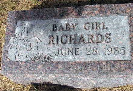 RICHARDS, BABY GIRL - Linn County, Iowa   BABY GIRL RICHARDS