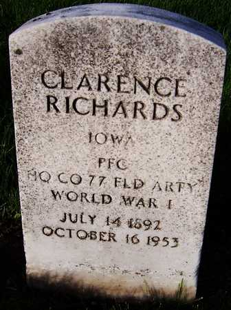 RICHARDS, CLARENCE - Linn County, Iowa | CLARENCE RICHARDS
