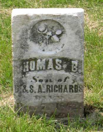 RICHARDS, THOMAS B. - Linn County, Iowa | THOMAS B. RICHARDS