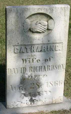 RICHARDSON, CATHARINE - Linn County, Iowa | CATHARINE RICHARDSON
