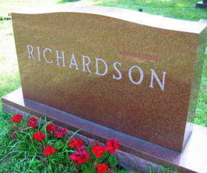 RICHARDSON, FAMILY STONE - Linn County, Iowa | FAMILY STONE RICHARDSON