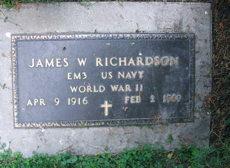 RICHARDSON, JAMES W. - Linn County, Iowa | JAMES W. RICHARDSON