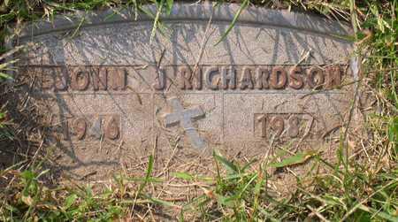RICHARDSON, JOHN J. - Linn County, Iowa | JOHN J. RICHARDSON