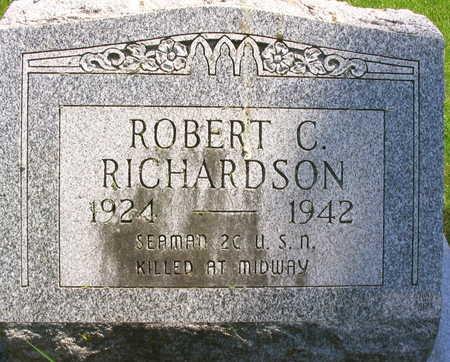 RICHARDSON, ROBERT C. - Linn County, Iowa | ROBERT C. RICHARDSON
