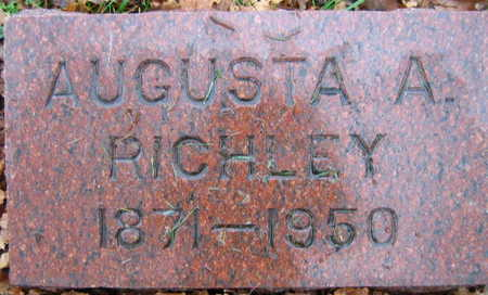 RICHLEY, AUGUSTA  A. - Linn County, Iowa | AUGUSTA  A. RICHLEY