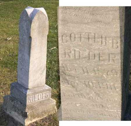 RIEDER, GOTTLIEB - Linn County, Iowa | GOTTLIEB RIEDER