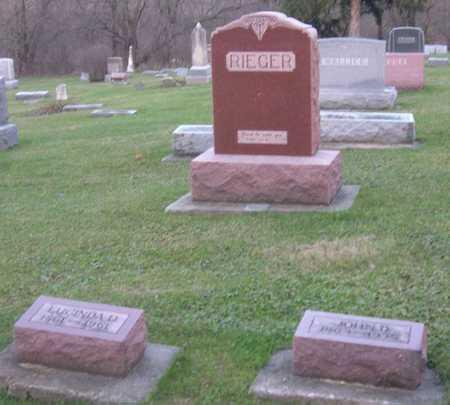 RIEGER, FAMILY STONE - Linn County, Iowa | FAMILY STONE RIEGER