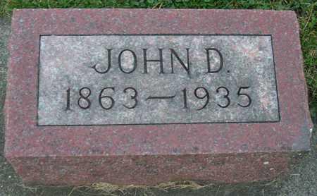 RIEGER, JOHN D. - Linn County, Iowa   JOHN D. RIEGER