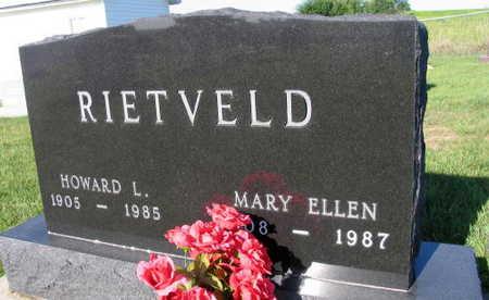 RIETVELD, MARY ELLEN - Linn County, Iowa   MARY ELLEN RIETVELD