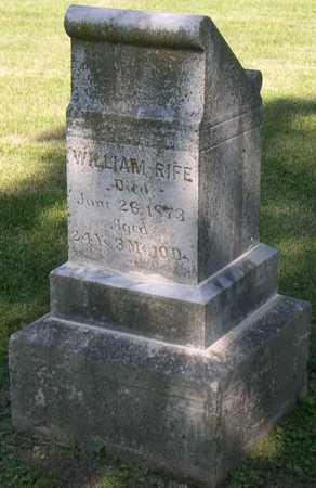 RIFE, WILLIAM - Linn County, Iowa | WILLIAM RIFE
