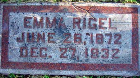 RIGEL, EMMA - Linn County, Iowa | EMMA RIGEL