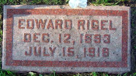 RIGEL, EDWARD - Linn County, Iowa | EDWARD RIGEL