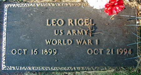 RIGEL, LEO - Linn County, Iowa | LEO RIGEL