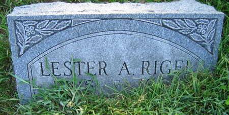RIGEL, LESTER A. - Linn County, Iowa | LESTER A. RIGEL