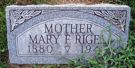 RIGEL, MARIE F. - Linn County, Iowa | MARIE F. RIGEL