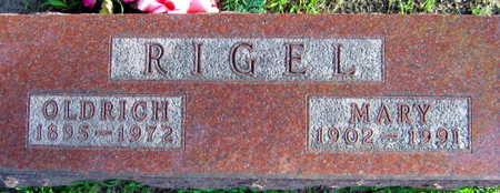 RIGEL, OLDRICH - Linn County, Iowa | OLDRICH RIGEL