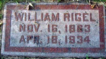 RIGEL, WILLIAM - Linn County, Iowa | WILLIAM RIGEL