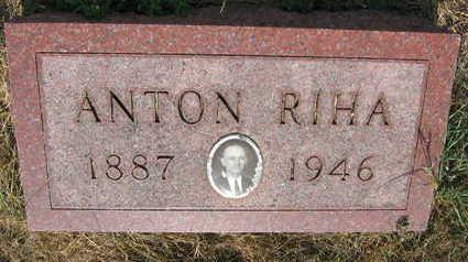 RIHA, ANTON - Linn County, Iowa | ANTON RIHA