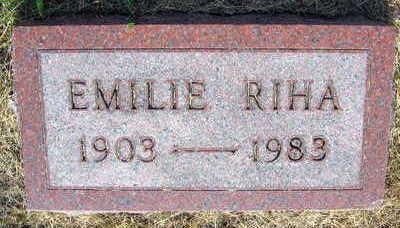 RIHA, EMILIE - Linn County, Iowa | EMILIE RIHA