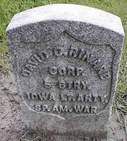 RINARD, DAVID C. - Linn County, Iowa   DAVID C. RINARD