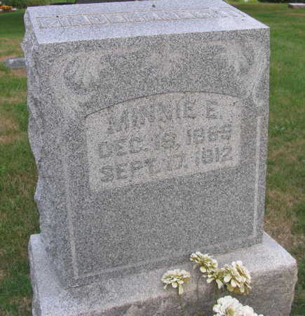 RINDERNICHT, MINNIE E. - Linn County, Iowa   MINNIE E. RINDERNICHT
