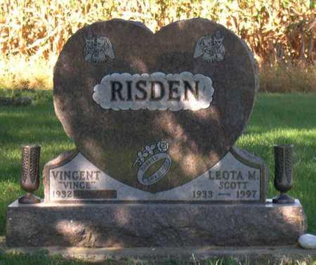 SCOTT RISDEN, LEOTA M. - Linn County, Iowa   LEOTA M. SCOTT RISDEN