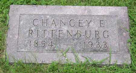 RITTENBURG, CHANCEY E. - Linn County, Iowa | CHANCEY E. RITTENBURG