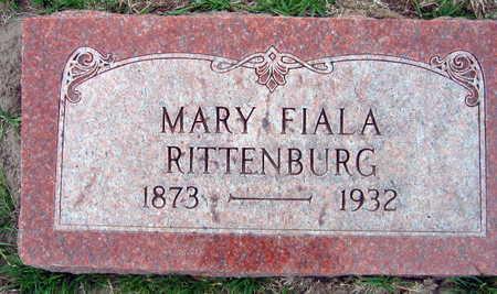 FIALA RITTENBURG, MARY - Linn County, Iowa | MARY FIALA RITTENBURG