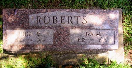 ROBERTS, HUGH M. - Linn County, Iowa | HUGH M. ROBERTS