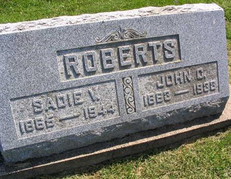 ROBERTS, JOHN C. - Linn County, Iowa | JOHN C. ROBERTS