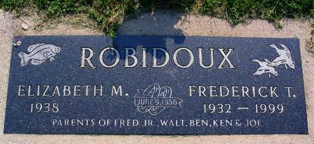 ROBIDOUX, FREDERICK T. - Linn County, Iowa   FREDERICK T. ROBIDOUX