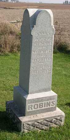 ROBINS, ANNA A. - Linn County, Iowa | ANNA A. ROBINS