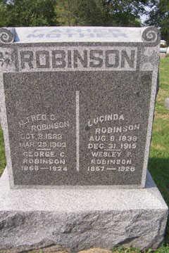 ROBINSON, LUCINDA - Linn County, Iowa | LUCINDA ROBINSON