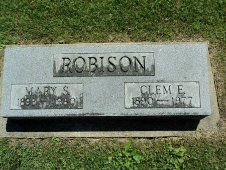 ROBISON, CLEM E. - Linn County, Iowa | CLEM E. ROBISON