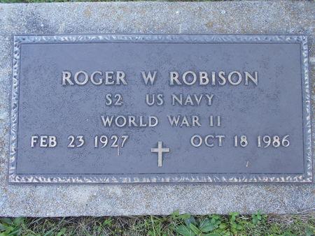 ROBISON, ROGER W. - Linn County, Iowa | ROGER W. ROBISON