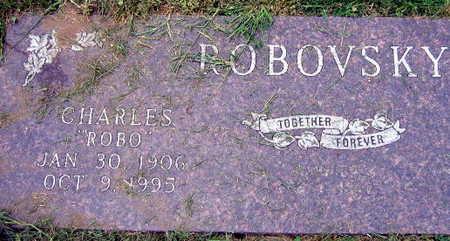 ROBOVSKY, CHARLES - Linn County, Iowa   CHARLES ROBOVSKY