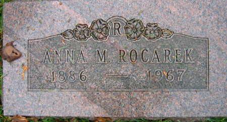 ROCAREK, ANNA M. - Linn County, Iowa | ANNA M. ROCAREK