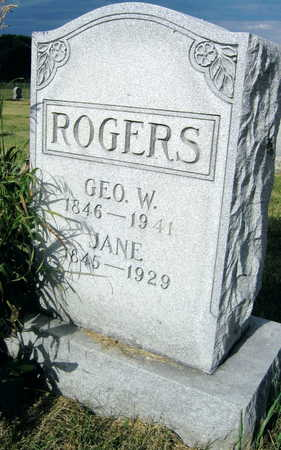 ROGERS, JANE - Linn County, Iowa | JANE ROGERS