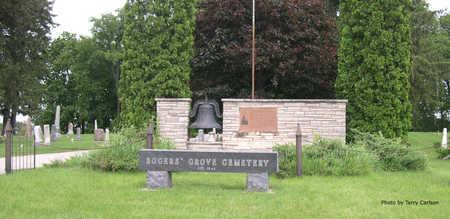 ROGERS' GROVE A.K.A. NEIDERHISER, CEMETERY - Linn County, Iowa | CEMETERY ROGERS' GROVE A.K.A. NEIDERHISER