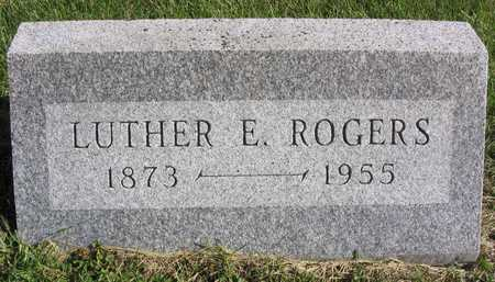 ROGERS, LUTHER E. - Linn County, Iowa | LUTHER E. ROGERS