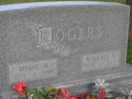 ROGERS, WALLACE K. - Linn County, Iowa   WALLACE K. ROGERS