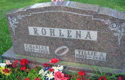 ROHLENA, CHARLES - Linn County, Iowa | CHARLES ROHLENA