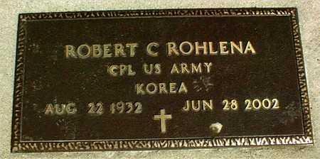 ROHLENA, ROBERT C. - Linn County, Iowa | ROBERT C. ROHLENA