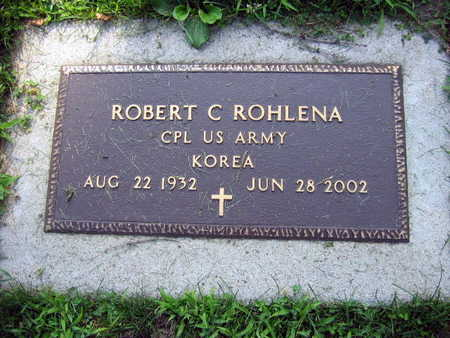 ROHLENA, ROBERT C. - Linn County, Iowa   ROBERT C. ROHLENA